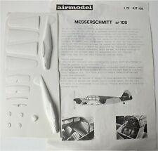 AIRMODEL MESSERSCHMITT BF 108 KIT 136 1:72 SCALE. 1970's. UK DISPATCH