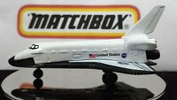 Matchbox  Space Shuttle Orbiter NASA USA LOGO Collector 1/64 Diecast  VHTF