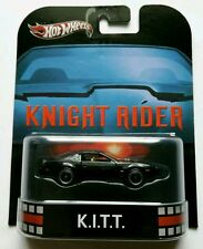 Hot Wheels EL COCHE FANTÁSTICO - KNIGHT RIDER K.I.T.T. KITT RETRO Limit Edit