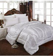 Natural/Mulberry Luxury Silk Comforter Duvet Hand-made Blanket  Jacquard Bedding