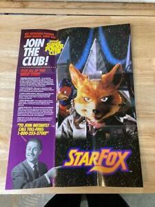 Star Fox Super Nintendo SNES Poster P-GP-SNS-USA-4