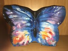 Fun Colorful  Pier 1 Melamine Butterfly Divided Serving Platter