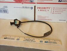 Old car/truck/farm machine choke or throttle cable.  Used.      Item:  6543