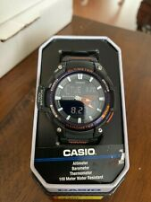Casio SGW450H-2BTN  altimeter/barometer world time sport watch51mm New