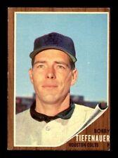 1962 Topps #227 BOBBY TIEFENAUER EX-MT *7j