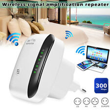 NEW WiFi Range Extender Super Booster 300Mbps Boost Speed Superboost Wireless EU