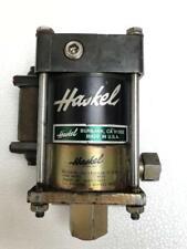 HASKEL M-21 AIR DRIVEN LIQUID/ FLUID PUMP 2600 PSI MAX WP 21:1 RATIO (2)