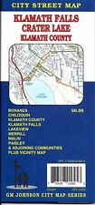 City Street Map of Klamath Falls, Crater Lake, & Klamath County, Oregon, by GMJ