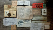 Circa 1886 Handwritten Ww I Diary & Archive American Nurse Secret Hospital 78pp