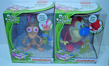 Ren and Stimpy EYE BULGING REN & BOBBLE BOOTY STIMPY Sealed NEW Nickelodeon