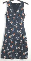 Marks & Spencer Summer Floral Print Sleeveless skater dress Size 8 - 20