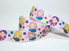 Printed Multi-Coloured Ribbons & Ribboncraft