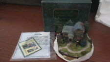 "New Thomas Kinkade Painter Of Light Lighted Cottage Collection ""Heather'S Hutch"""