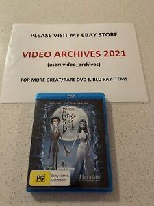 Blu Ray Disc - CORPSE BRIDE - Tim Burton- Johnny Depp - Region B