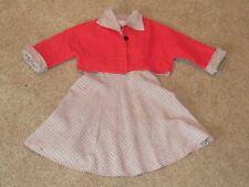 New listing 1950's Vintage Girl's Jumper w/ Matching Jacket Debby Ross of Ca Excellent Vtg