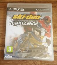 SKI-DOO SNOWMOBILE CHALLENGE Jeu Sur Sony PS3 Playstation 3 Neuf Sous Blister VF