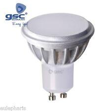 BOMBILLA GU10 LED SMD 7,5W LUZ BLANCA 6000k,110º Dicroica Tapada 50mm 230V