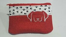 Coin purse / Jewellery pouch - Puppy Dogs