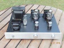 1x Eric McChanson 18W 5998A Triode PP timEt Amp Tube Valve integrated NEW