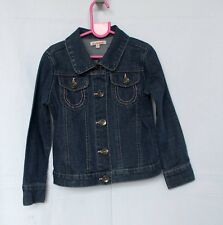 Blue Zoo @ debenhams girl's blue denim jacket - Age 6 yrs.