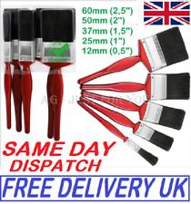 5PC Paint Brush Fine Brushes Set Advanced Bristles Decorating DIY Painting UK