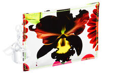 BNWT, RARE LIMITED EDITION MARC QUINN FOR DIOR ORCHID CARD HOLDER/CASE