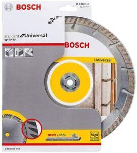 "Bosch 230mm / 9"" Diamond Cutting Disc High Speed Professional for Universal"