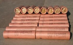 1963 D LINCOLN CENT ORIGINAL BANK WRAP ROLL ONE OBW PENNY ROLL