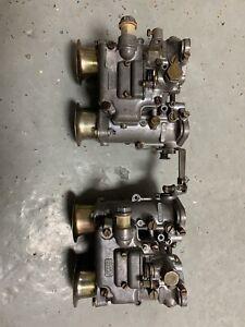 Dellorto DHLA 40 twin carbs Carburettor Escort Mk1 Mk2 Cortina Anglia