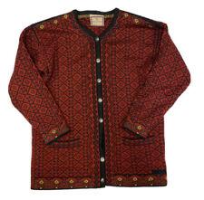 DALE OF NORWAY Women's Nordic Cardigan Wool Sweater Size Medium