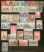 FRANCE LOT ALL USED Sc 247 discontinuous until 773,Sc B 303-308 FVF