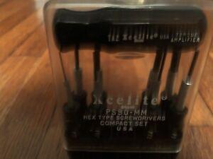 Xcelite PS-90MM Hex Type Screwdrivers Compact Set
