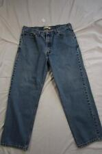 Levi 550 Relaxed Fit Faded Color Denim Jeans Tag 38x30 Measure 38x29.5