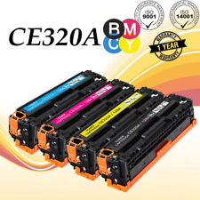 Set of 4 PK CE320A - 23A 128A Color Toner For HP LaserJet Pro CM1415FNW CP1525NW