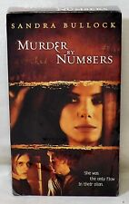 Murder by Numbers VHS Sealed