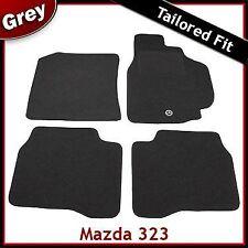 Mazda 323 Tailored Carpet Car Mats GREY (1998 1999 2000 2001 2002 2003)