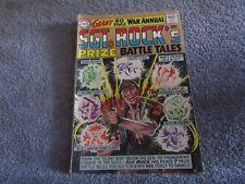 DC comics Giant 80 pg War Annual   SGT ROCK`S Prize Battle Tales