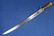 18th century blade on a 20th century European hunting hanger (sword)