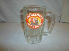 Barrel Head Root Beer Glass Mug Glass Stein Cup ACL Soda Pop Advertising Float
