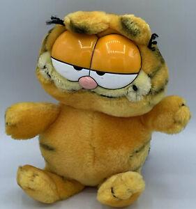 "Garfield The Cat Vintage Plush Stuffed Animal Toy by Fun Farm 1978, 1981 10"""