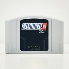 *OFFICIAL* KRIKzz Nintendo 64 N64 Everdrive v3.0 3.0 3 X7 Cartridge ED64 PLUS SD