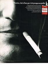 PUBLICITE  1968  WINSTON  cigarettes