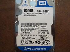 "Western Digital WD6400BEVT-55A0RT0 DCM:HVCVJBN 640gb 2.5"" Sata Hard Drive"