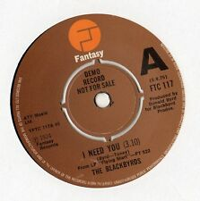 "The Blackbyrds - I Need You 7"" Single 1975 / DEMO"