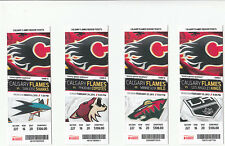 CALGARY FLAMES VS PHOENIX COYOTES FULL TICKET STUB 2/24/13 JAROME IGINLA 2 GOALS