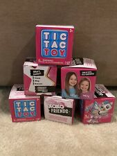 Blip Toys Tic Tac Toy XOXO Friends Set of 6 Single Surprise Boxes - Addy & Maya