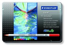 12 X Staedtler Karat Aquarell Lata Lápices Acuarela Conjunto De Colores Surtidos