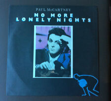 "PAUL McCARTNEY - No More Lonely Nights 7"" Vinyl Record 45 VG+ 1986 Aus Press"