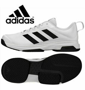 New Adidas Men's Game Spec Athletic Tennis Shoes Various Size/Black/White