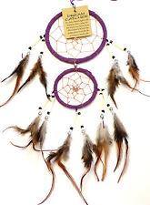 Capteur Attrapeur de rêve Dream Catcher Attrape dreamcatcher violet purple
